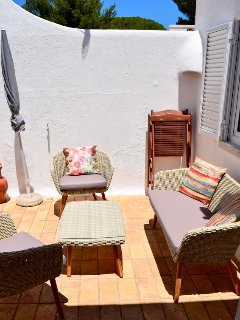 Private sun terrace, perfect for relaxing and socialising