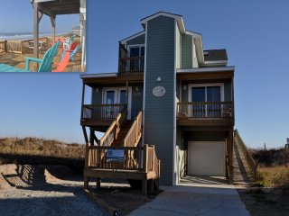 FALL WEEKS OPEN !! - RIGHT ON THE BEACH !! Larry's Lazy Susan-Elevator 5BR Pets