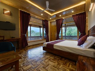 Valley Side room at Manali