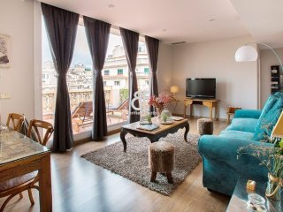 BCN Rambla Catalunya - Spectacular and luxury 1 bedroom penthouse apartment