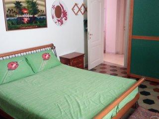 Camera matrimoniale con bagno personale, in appartamento privato