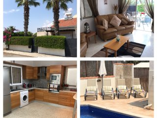 Fabulous 3 bed villa in Kato Paphos within 5 minutes walk of all amenities