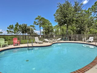 New! 3BR Dauphin Island Condo w/Private Boat Slips