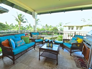 Enjoy your breakfast in our beautiful lanai!