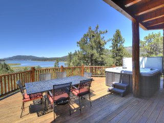 TWO HOMES WITH THE MOST INCREDIBLE LAKE VIEWS IN BIG BEAR