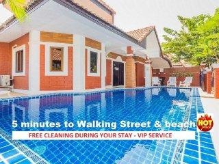 VILLA 4 CHAMBRES PROCHE WALKING STREET ET PLAGES