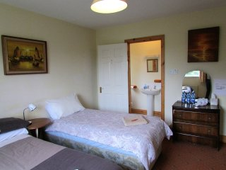 Ennis: Private En Suite room with a double bed and a single bed (Sleeps up to 3)