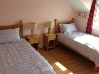 Twin room in Boyne Valley