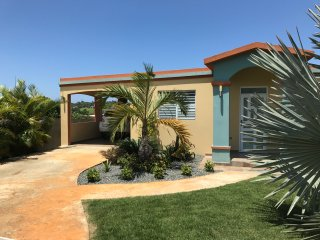 Front of private home, which is fully fenced and gated for your complete privacy and security.
