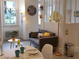 Studio cozy en centre historique calme, vue jardin