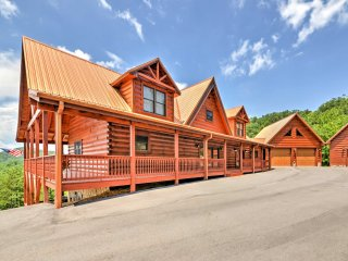 NEW! Beautiful Dobson Log Cabin w/Mountain Views!
