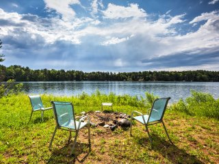 NEW! Lakefront 2BR Traverse City Cabin w/ Fire Pit
