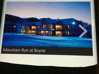 Avail Sun 12-24 to Thur 12-28 OR Tues 12-26 for 3 nights Condo at Mntn Run Boyne