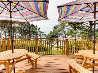 NEW LISTING! Waterfront duplex w/ a deck, ocean views, and easy access to town