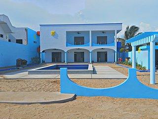 Villa Star of the Sea, Blue Star Suite a wonderful 1 bedroom apt on the ocean