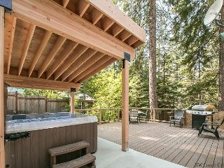 Cozy 'Peace of Pine,' with Wi-Fi, Hot Tub and pet friendly, close to it all