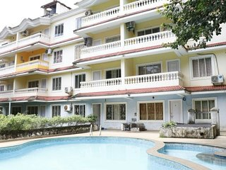 Delightful 1BHK apartment with a pool, 1.9 km from Anjuna beach