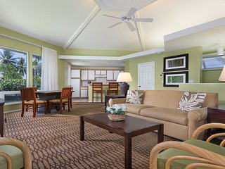 Golf, Tennis, Kona. Luxury Wyndham Tropical  Oasis