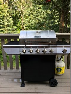 BBQ with propane