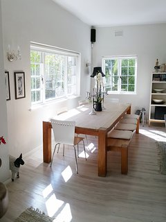 Dining Area with open flow to lounges and kitchen