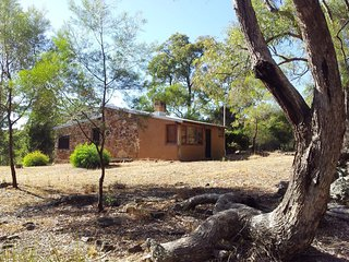 Saddlers Cottage is stone and mud brick construction, with a full length skylight