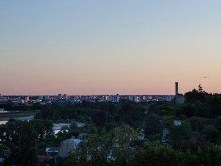 Gite troglodyte avec vue sur Loire