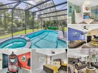 One of a kind! Themed Luxury Villa  - 3 miles to Disney