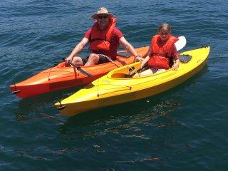Guests enjoying our kayaks!!