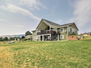 NEW! Updated Polson Studio w/Mountain Views!