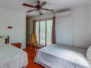 Room with two beds, sleeps 3