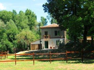La tua vacanza in una  casa di campagna immersa nel verde, a pochi  km da Urbino