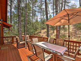 NEW! 2BR Prescott Cabin w/ Beautiful Forest Views!