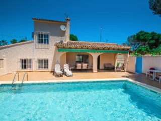 Linea - sea view villa with private pool in Teulada