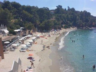Villa vue mer 50 metres plage du rayol-canadel
