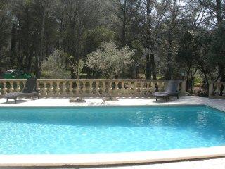 Location 2 pers Provence piscine tennis - Le Domaine d'Alèzen