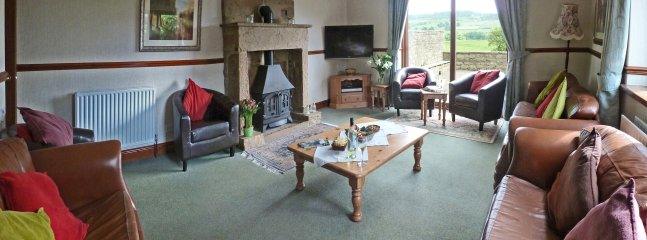lounge which will comfortably seat 16 with unspoilt views of the teesdale hills