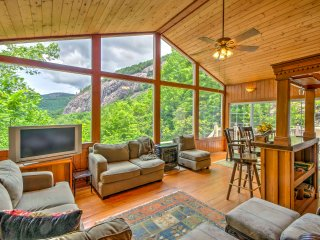 Blue Ridge Mtn Home 1 Mile to Sapphire Valley Ski!