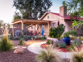 Casa La Huerta - 1300 Sq. Ft. adobe home on 1/3 acre of fully landscaped grounds.