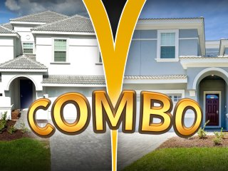 COMBO! 2 Brand New Stunning Homes at ChampiosGate!