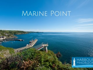 Mevagissey - stunning view from beautiful apartment