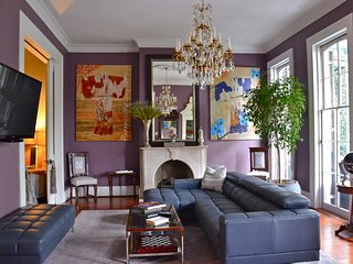5-Star residence with 2nd floor Gallery on Royal in heart of the French Quarter!