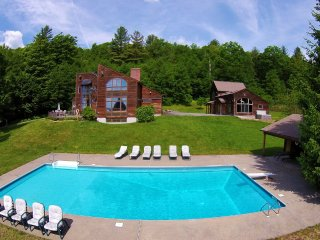 Mt. Snow/Stratton Area One of a kind private compound on 100 beautiful acres