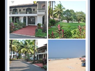 BEACH FRONT  2 B/R V. COMFORTA CONDO IN GOA, Gated Comm., 200 mtrs. from Beach.