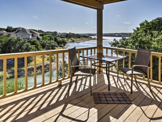 NEW! Charming 2BR Lago Vista Townhome w/Lake View!