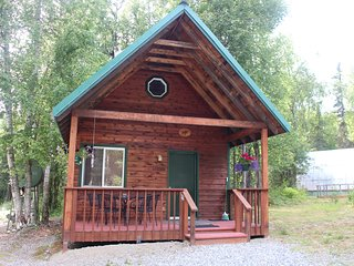 The Laughing Moose cabins