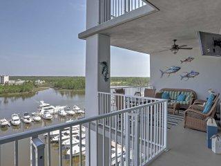 NEW! 2BR Orange Beach Condo w/Scenic Marina Views!