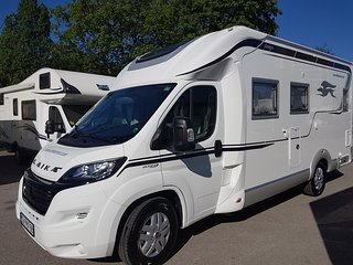 Laika Ecovip 312, a luxus motorhome with a home type bed on the back