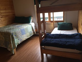 Bedroom #3 At our Cozy Cabin Overlooking the Dead River