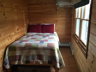 Bedroom #4 At our Cozy Cabin Overlooking the Dead River