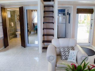 SpashRock Villa Newly Renovated, WIFI, Ocean view, Close to town/ POOL